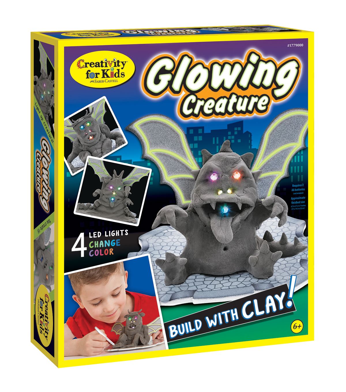 Creativity For Kids Glowing Creature Kit