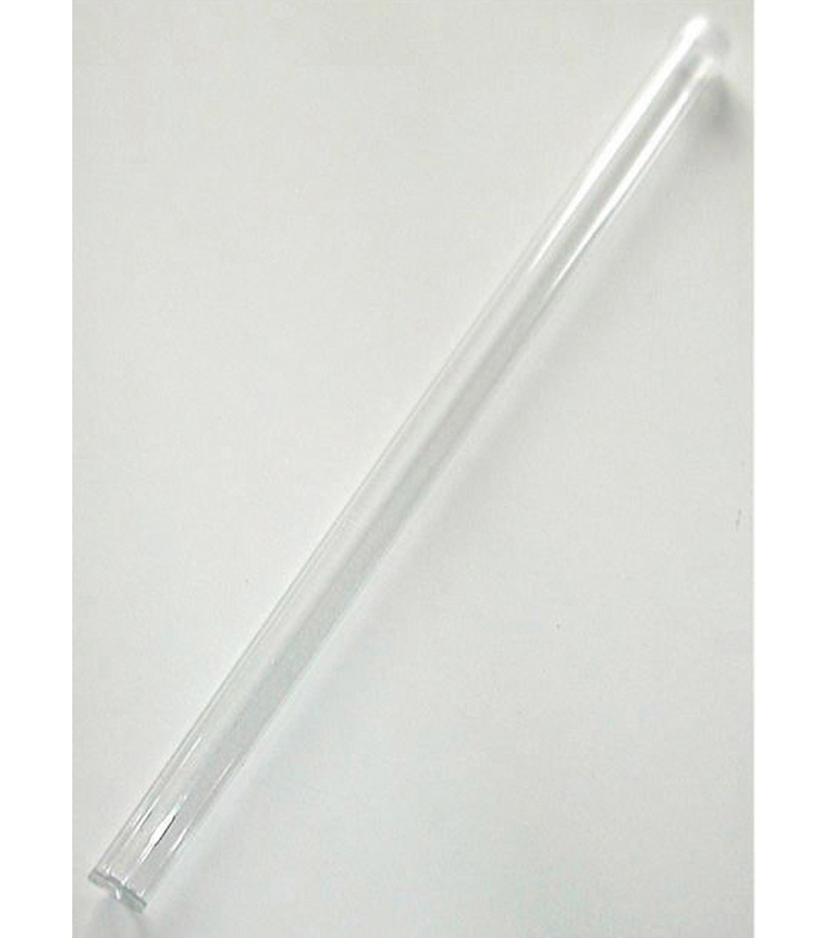 Plastic Tubes 12 Pack-Clear
