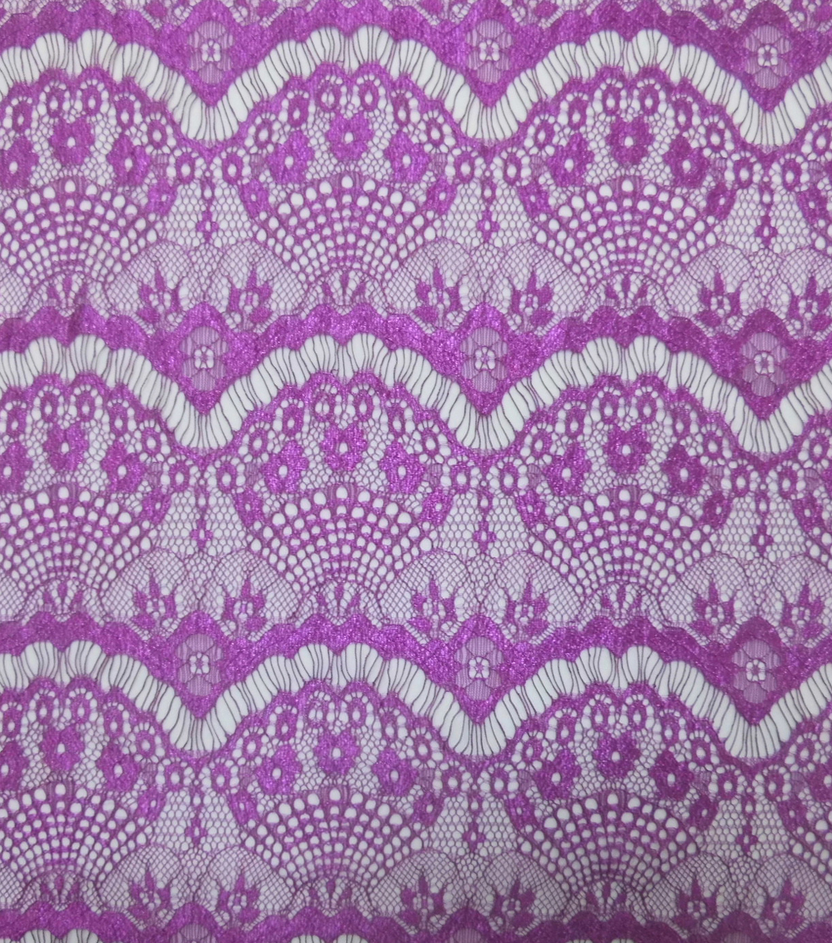 Casa Collection™ Eyelash Lace Fabric 43\u0027\u0027-Clover Berry