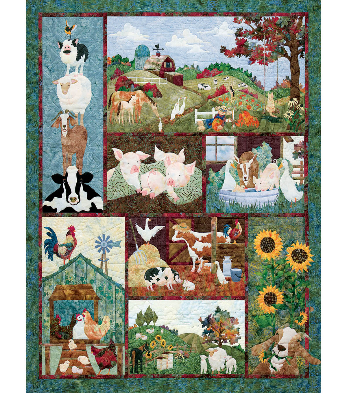 Jigsaw Puzzle 500 Pieces 24\u0022X18\u0022-Back On The Farm