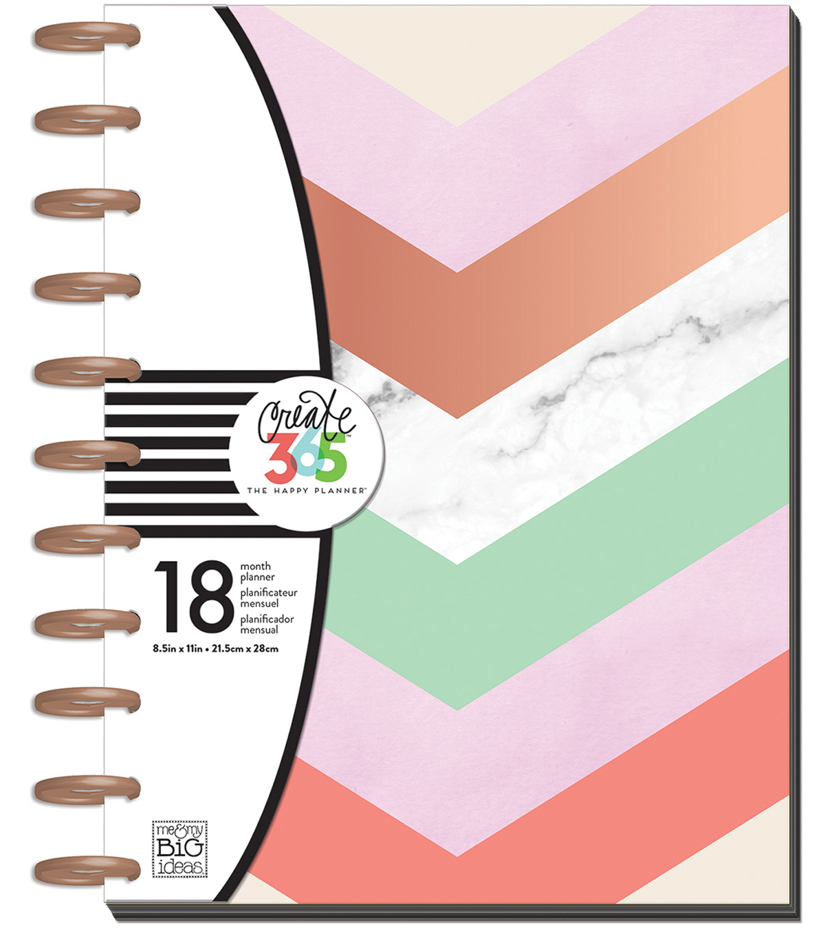 Create 365 Big Planner-Lovely Pastels