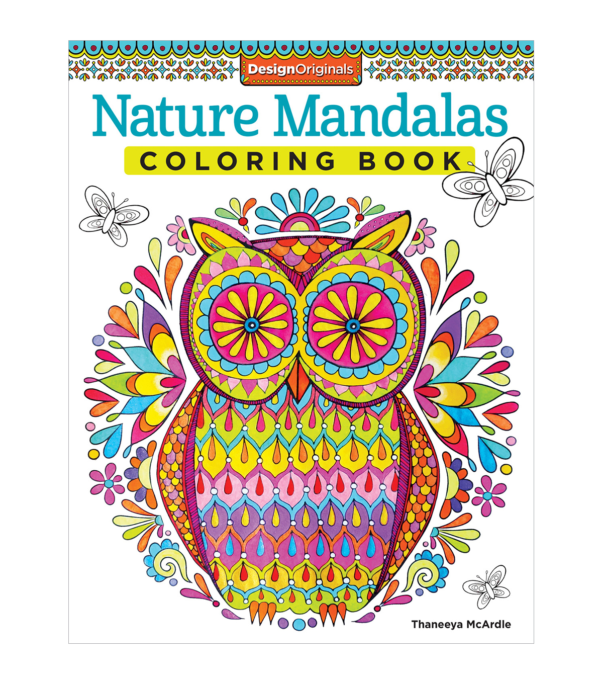 Adult Coloring Book Design Originals Nature Mandalas