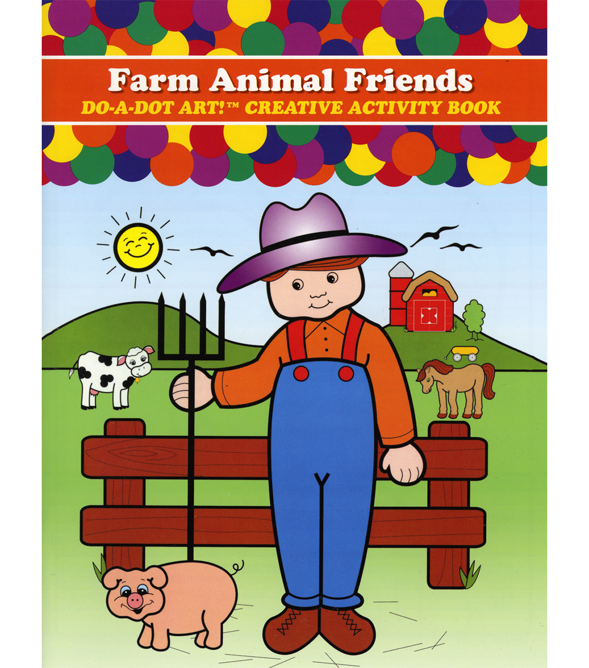 Do-A-Dot Activity Book-Farm Animals Friends