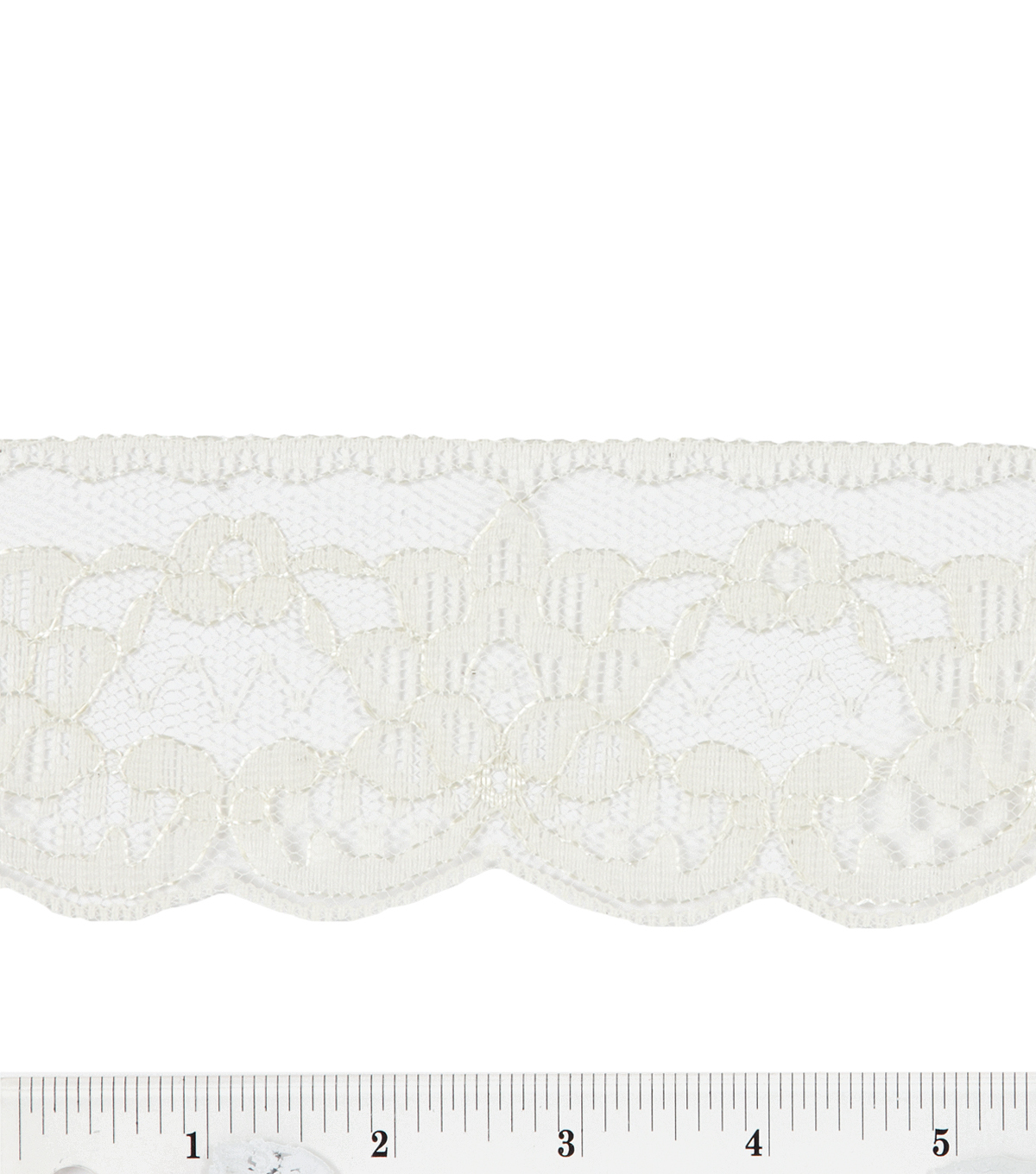 Natural Double Daisy Lace
