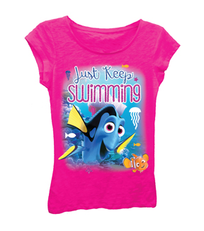 Finding Dory Girls T-shirt