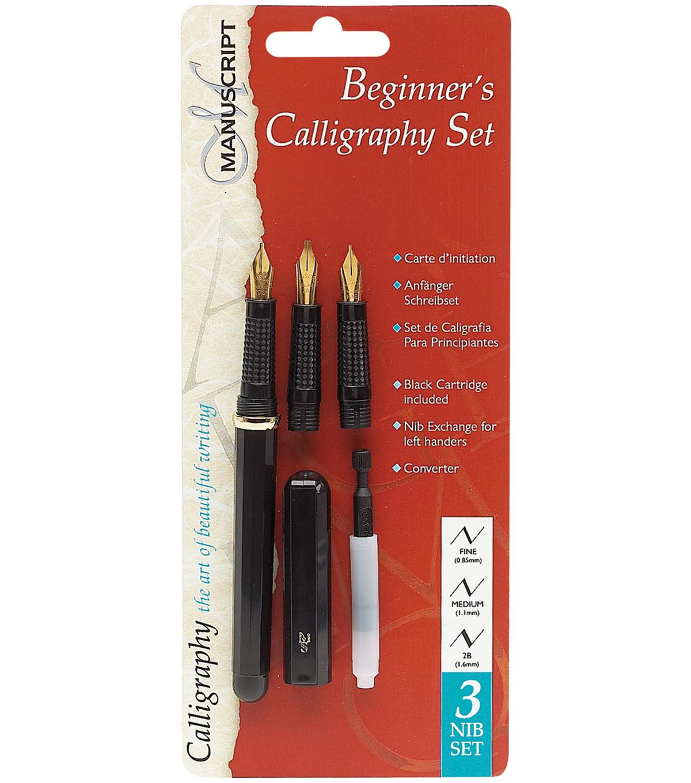Manuscript Beginner Calligraphy Set Joann