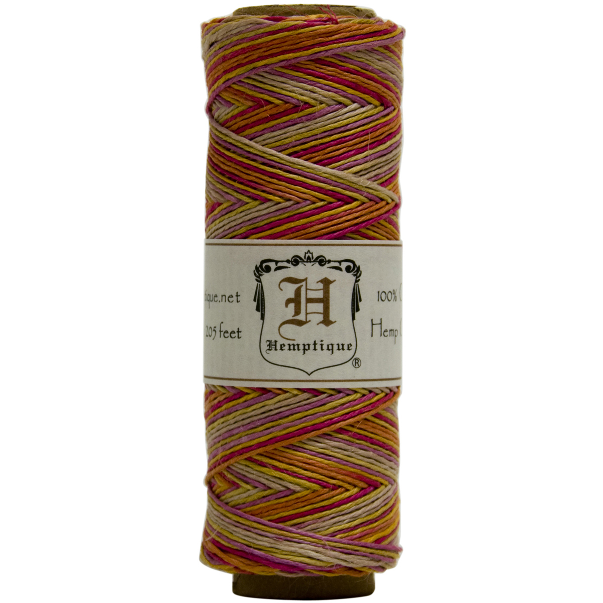 Hemptique Hemp Cord Spool Variegated 10#