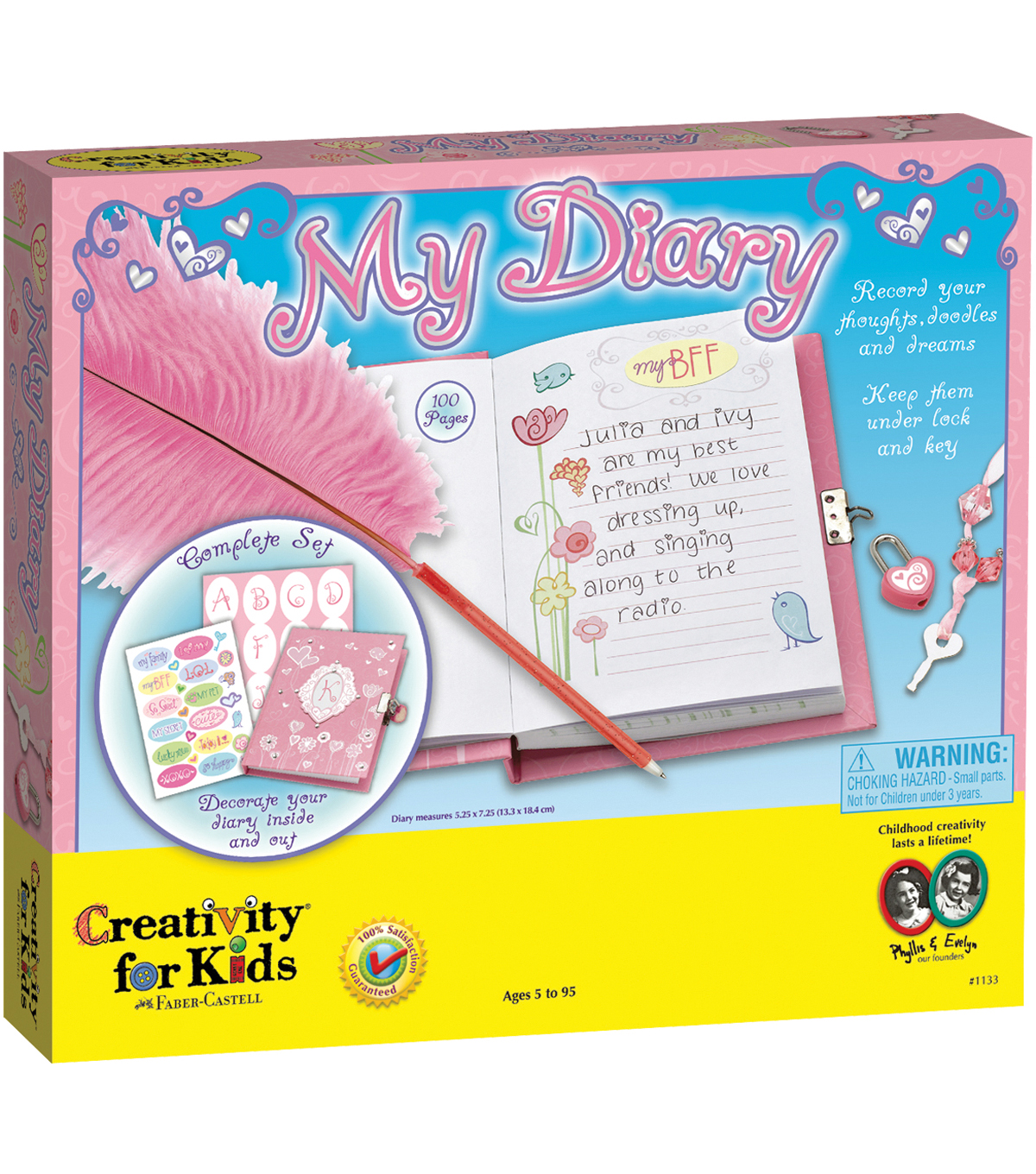 Creativity For Kids My Diary Kit