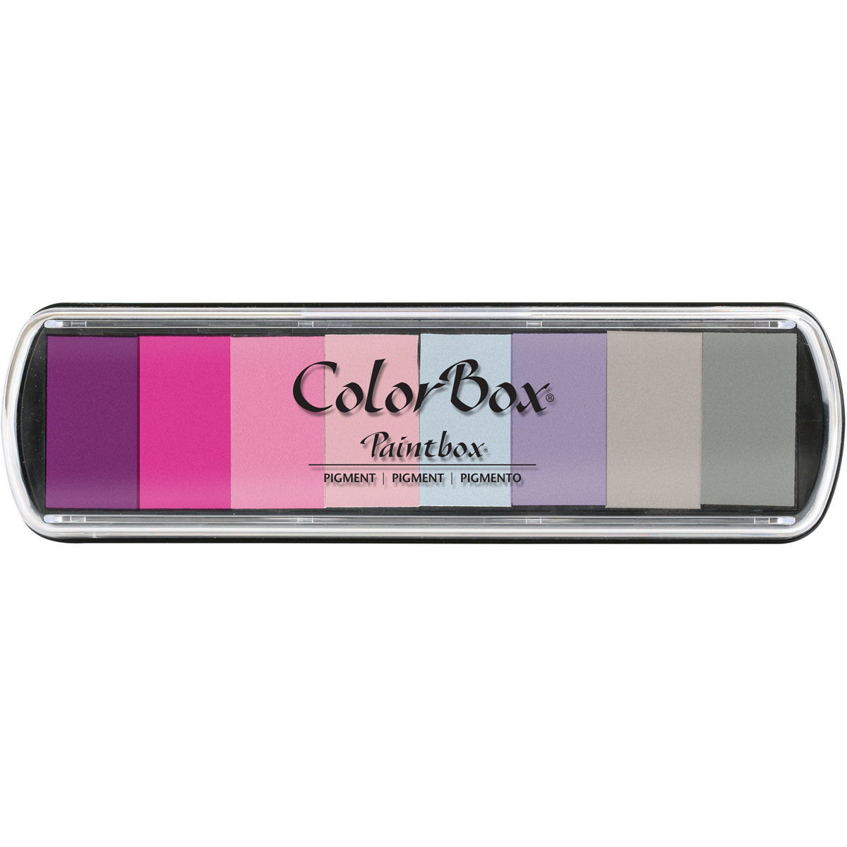 Clearsnap ColorBox Pigment Paintbox Ink Pad-Beach Ball