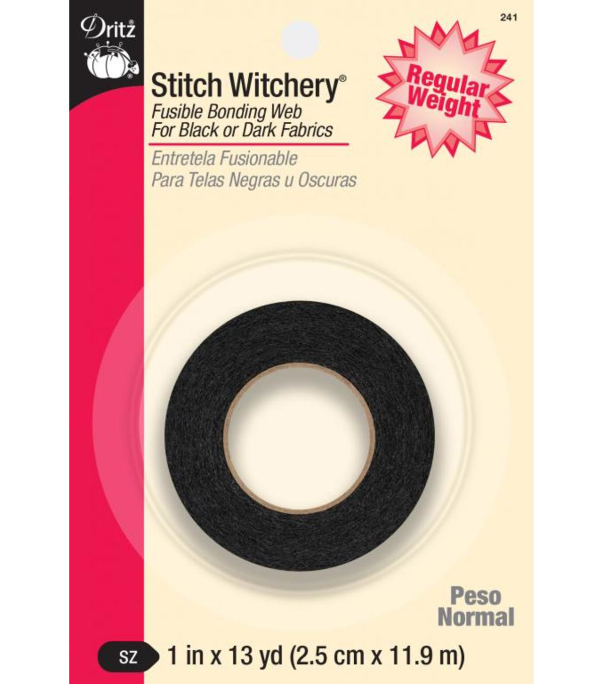 "Dritz Stitch Witchery Fusible Bonding Web 1"" Wide x 13Yds"