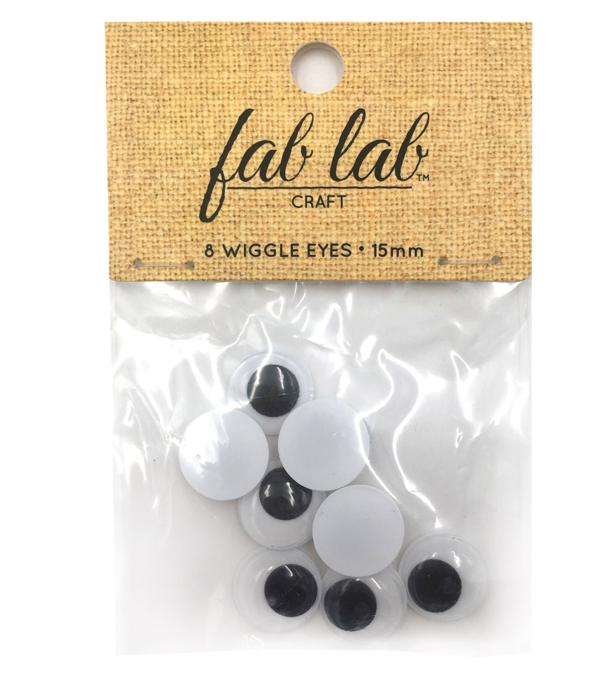 Easyglue Eyes 15mm 8pc
