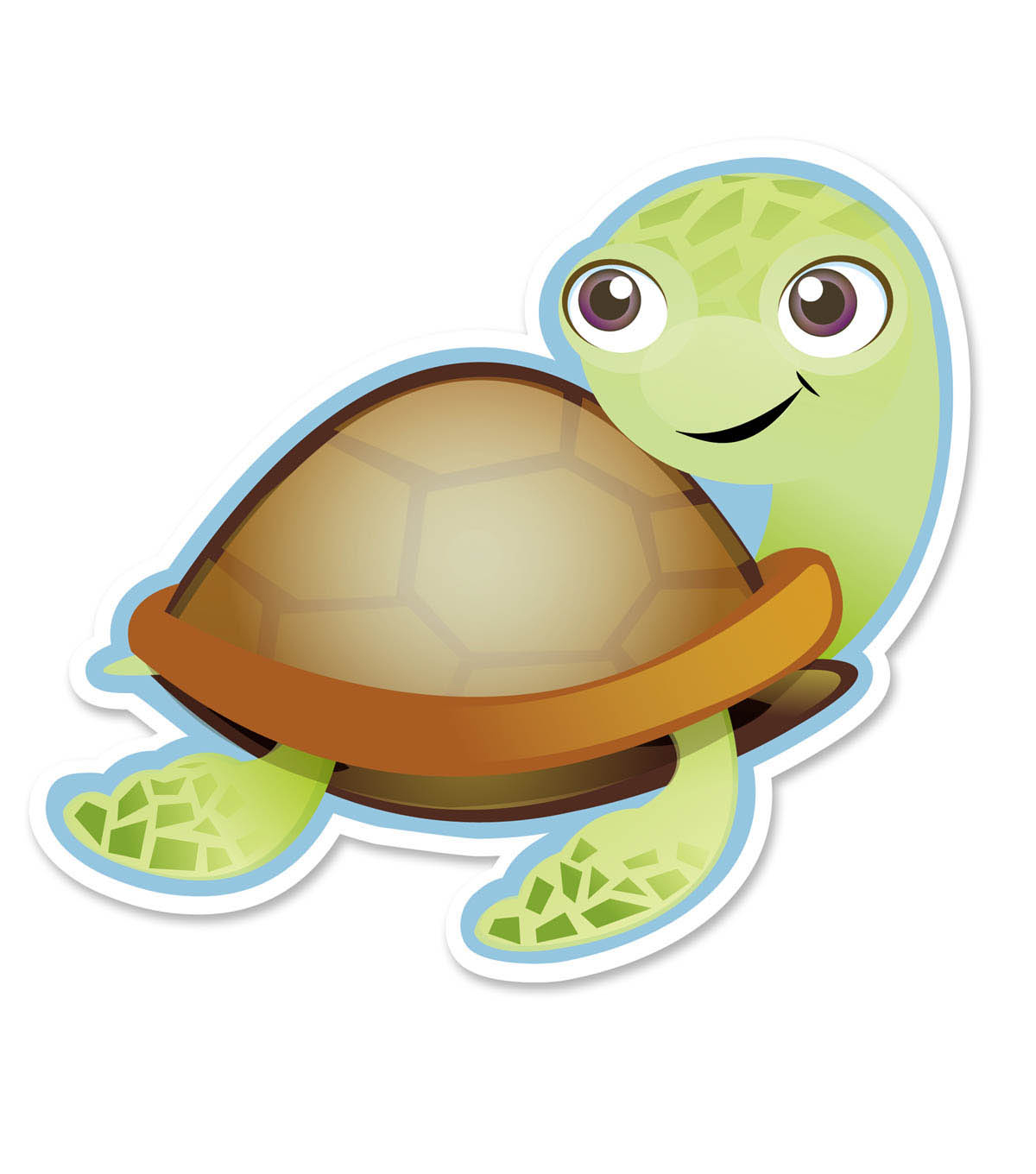 Busy Kids Learning Large Accents-Turtle