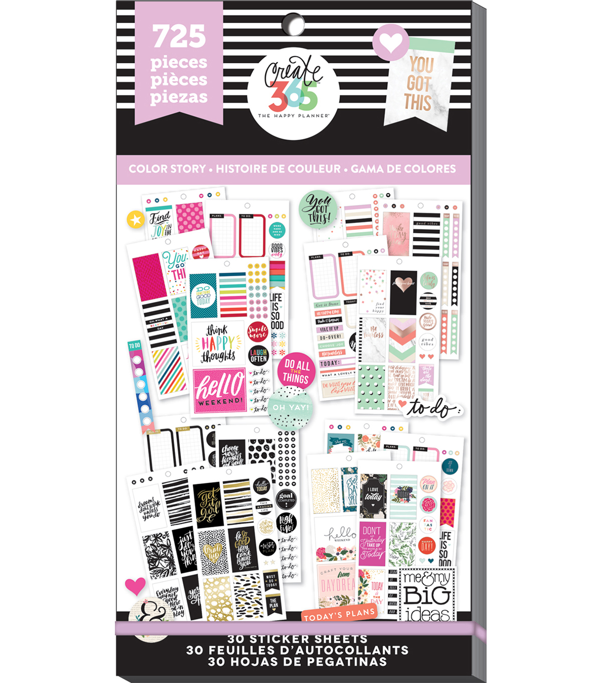 Create 365 The Happy Planner™ Classic Color Way Value Pack