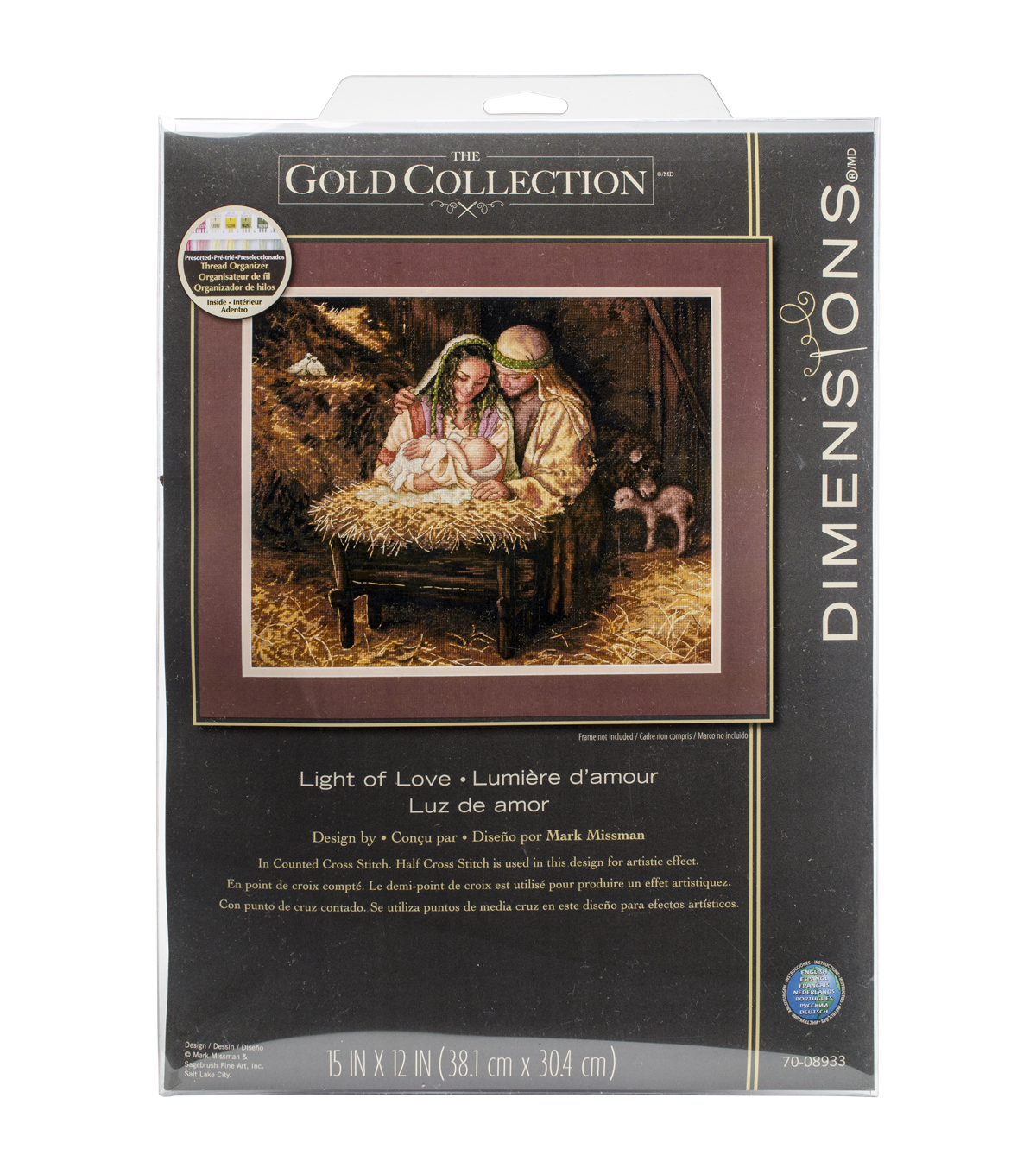 Dimensions Gold Light Of Love Counted Cross Stitch Kit