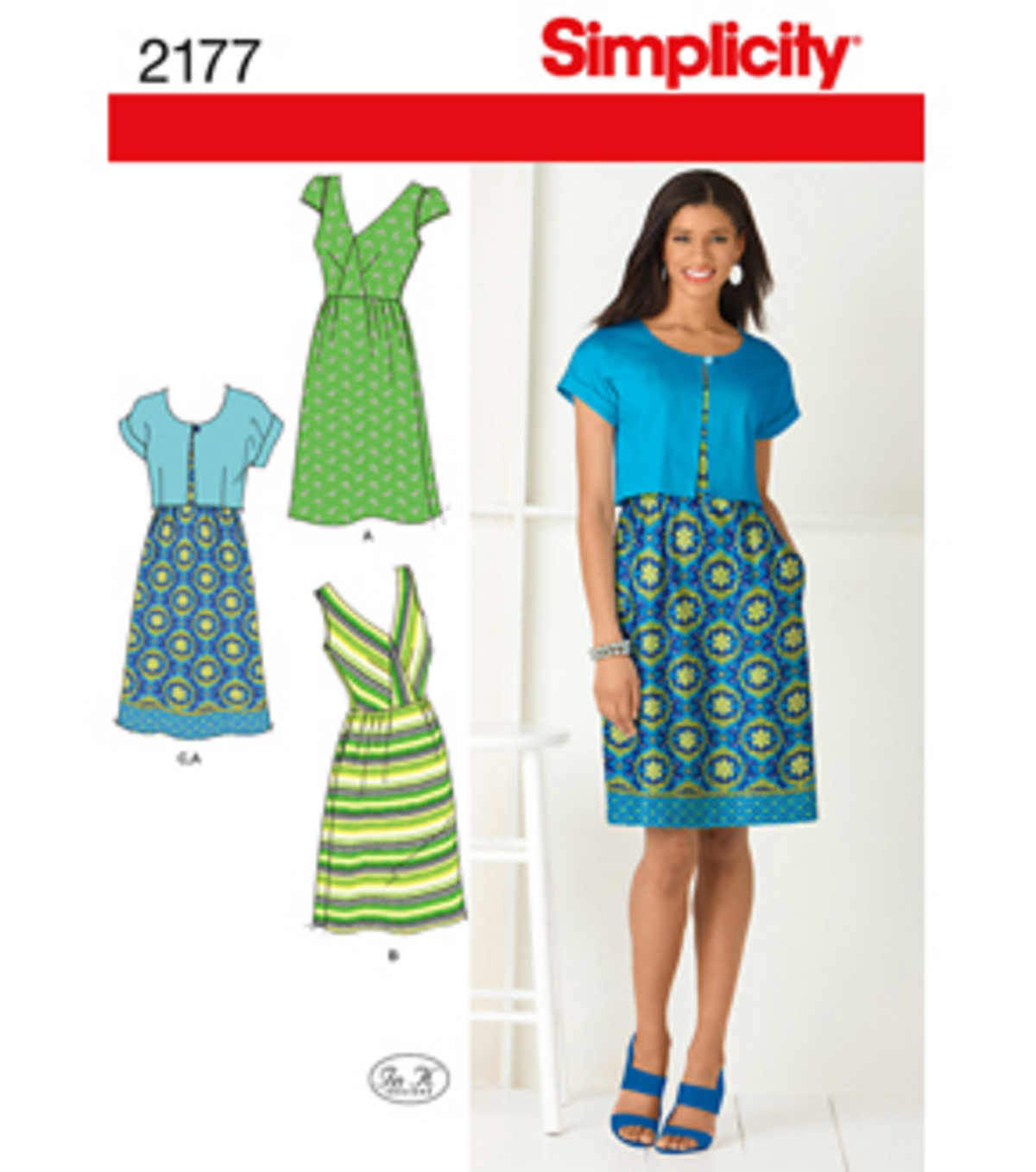 Simplicity Pattern 2177R5 14-16-18-2-Simplicity Misses