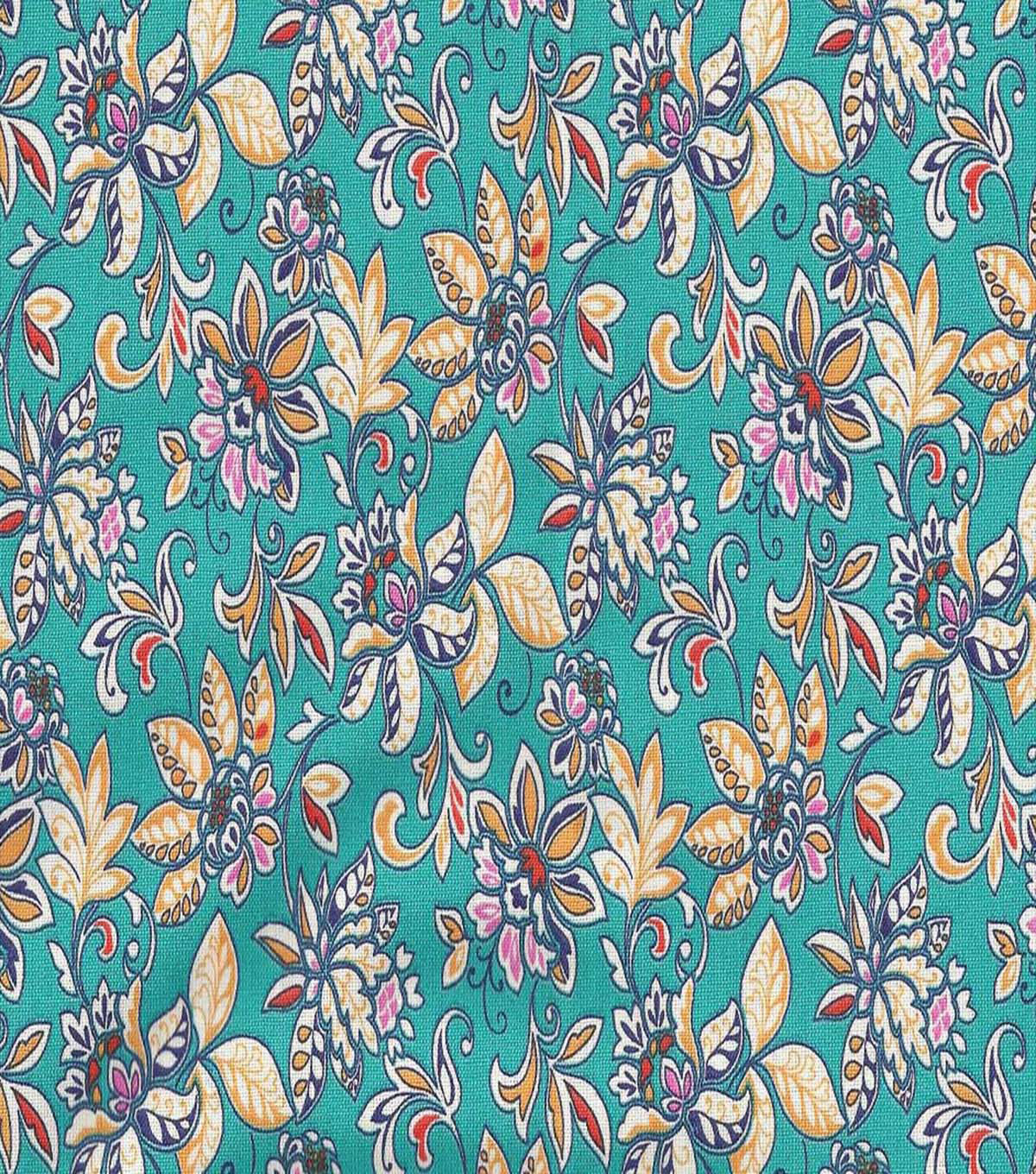 "Keepsake Calico™ Cotton Fabric 44""-Cherrington Summer"