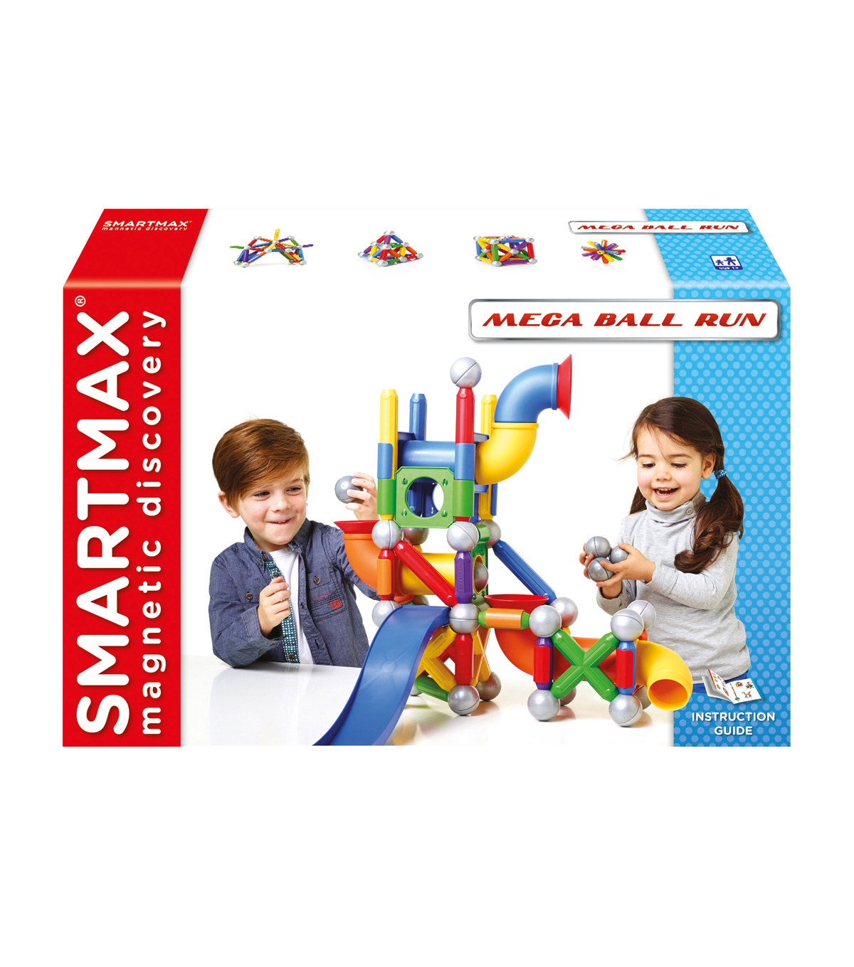 SmartMax® Mega Ball Run Building Set 74 Pc