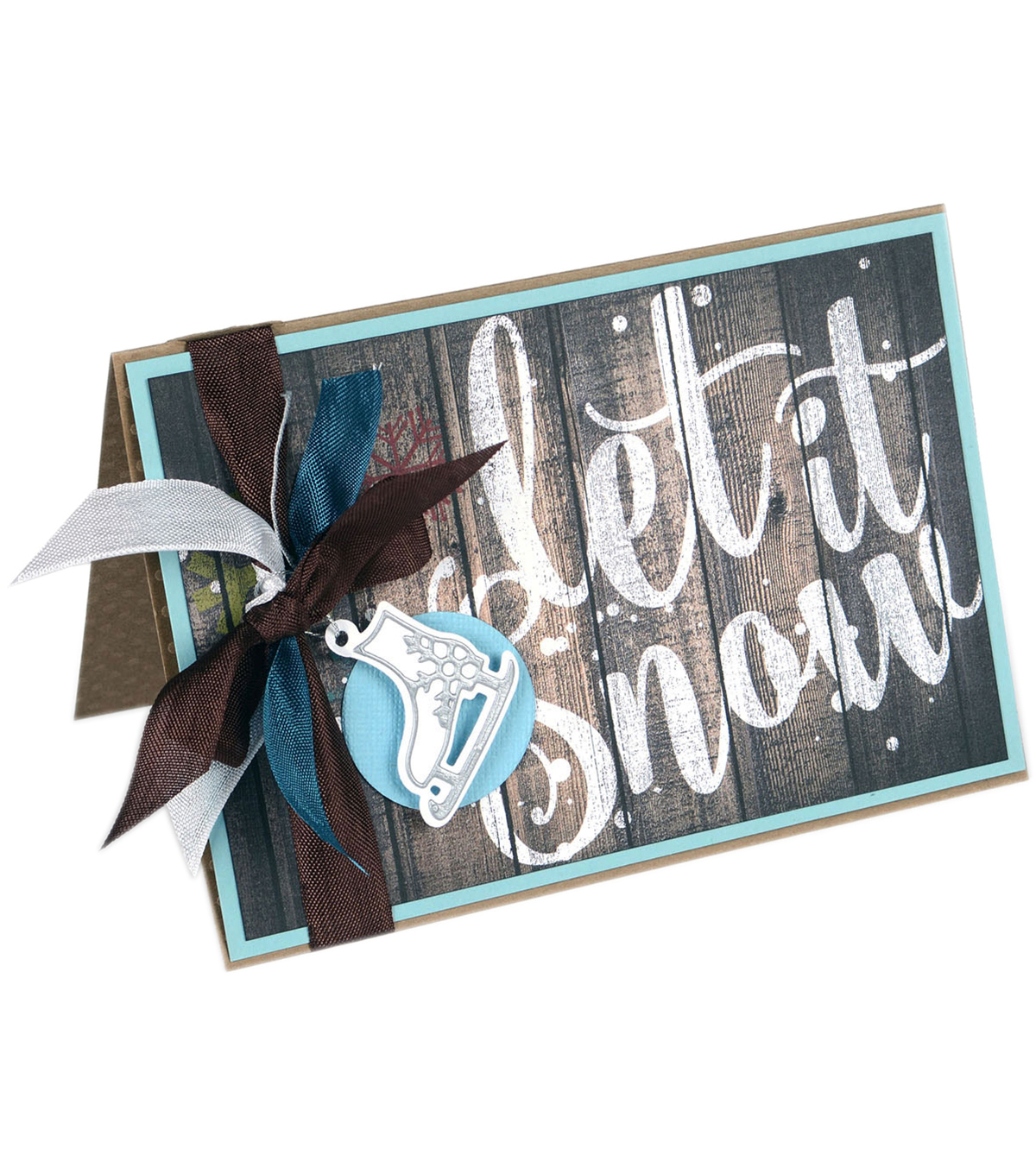 Sizzix® Framelits™ Dies with Stamps-Snow Place Like Home