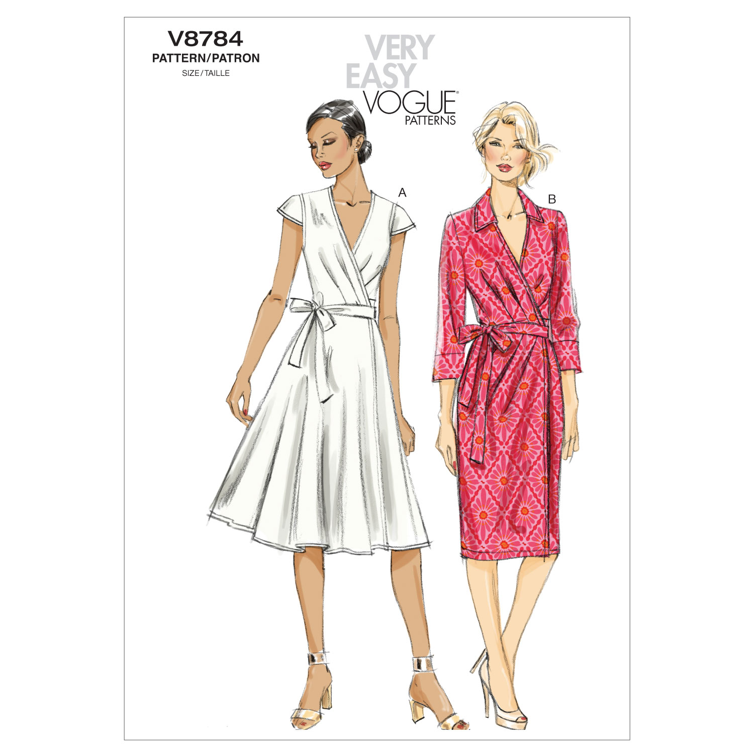 Vogue Patterns Misses Dress-V8784