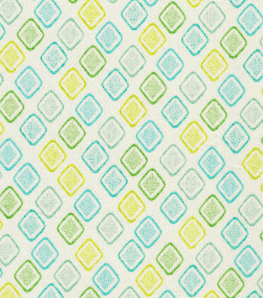 Keepsake Calico™ Cotton Fabric-Pam\u0027s Pineapple Geo On White
