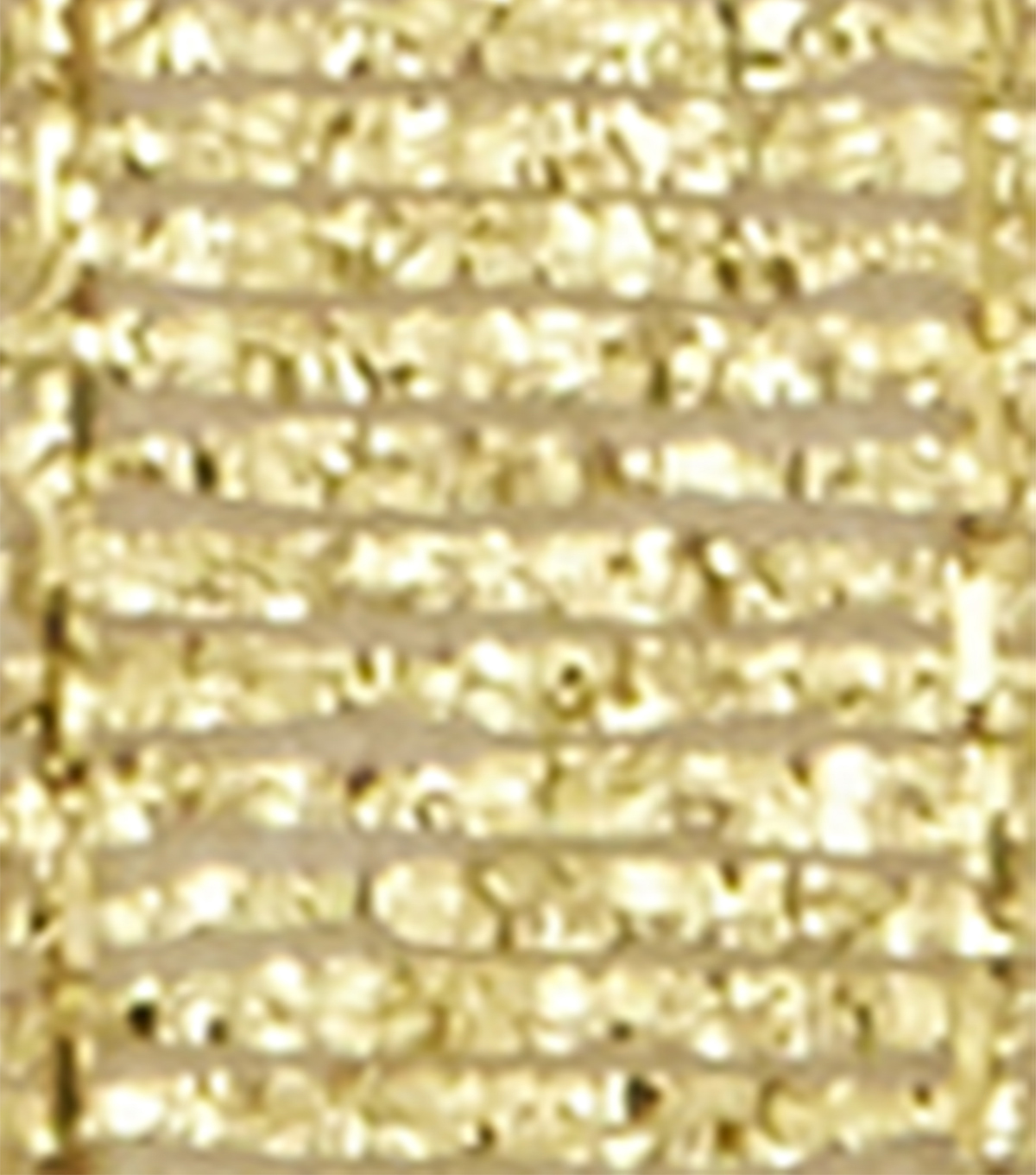 Offray 3/8\u0022x9\u0027 Galena Metallic Woven Ribbon-Gold