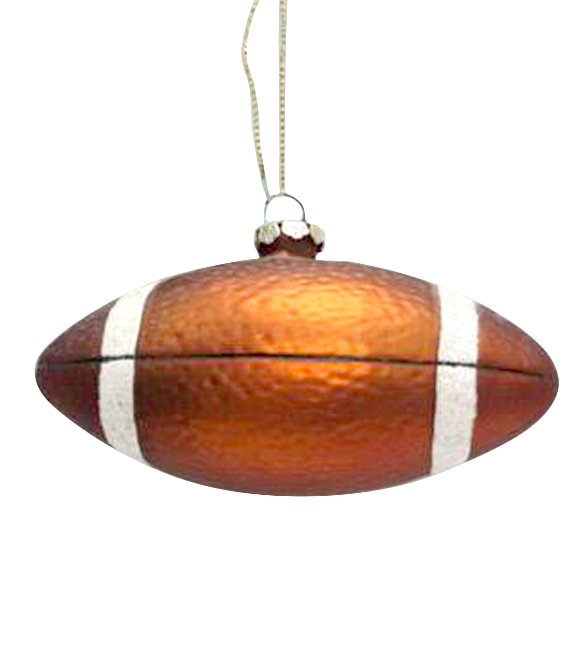 Maker's Holiday Football Ornament