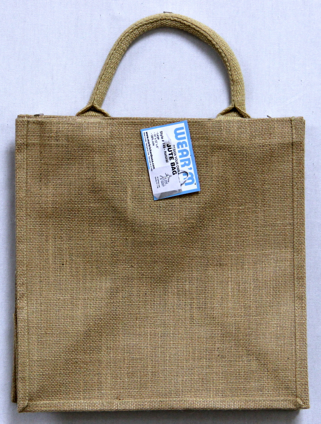 Wear\u0027m™ Large Jute Bag