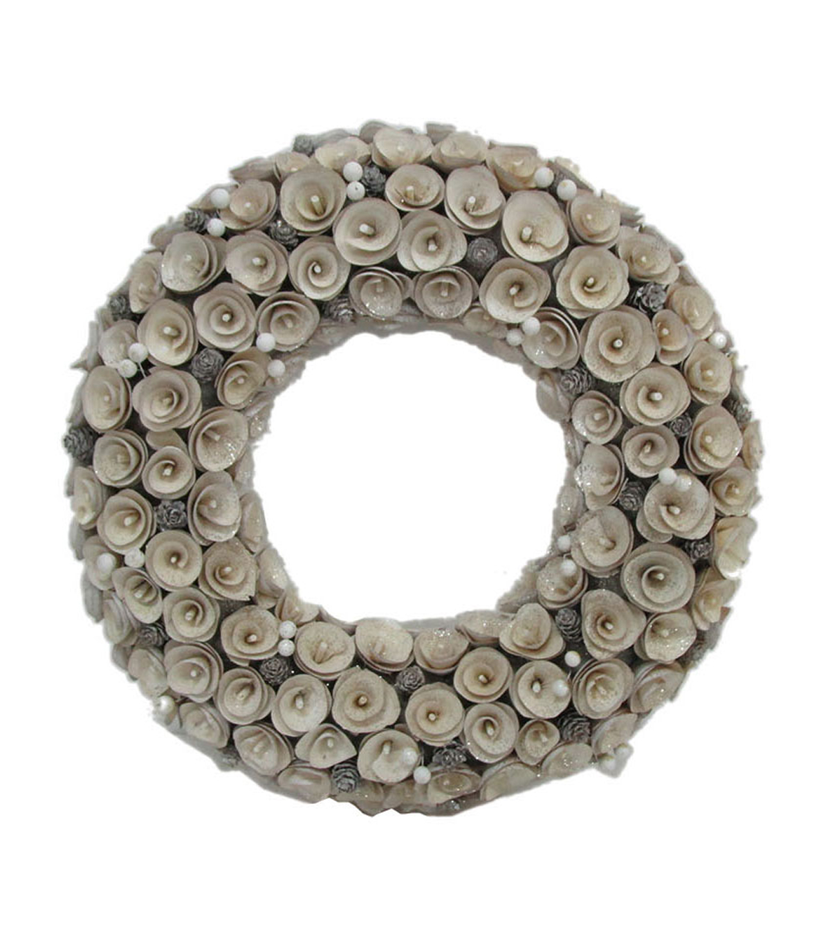Maker\u0027s Holiday Christmas Wood Chip Wreath