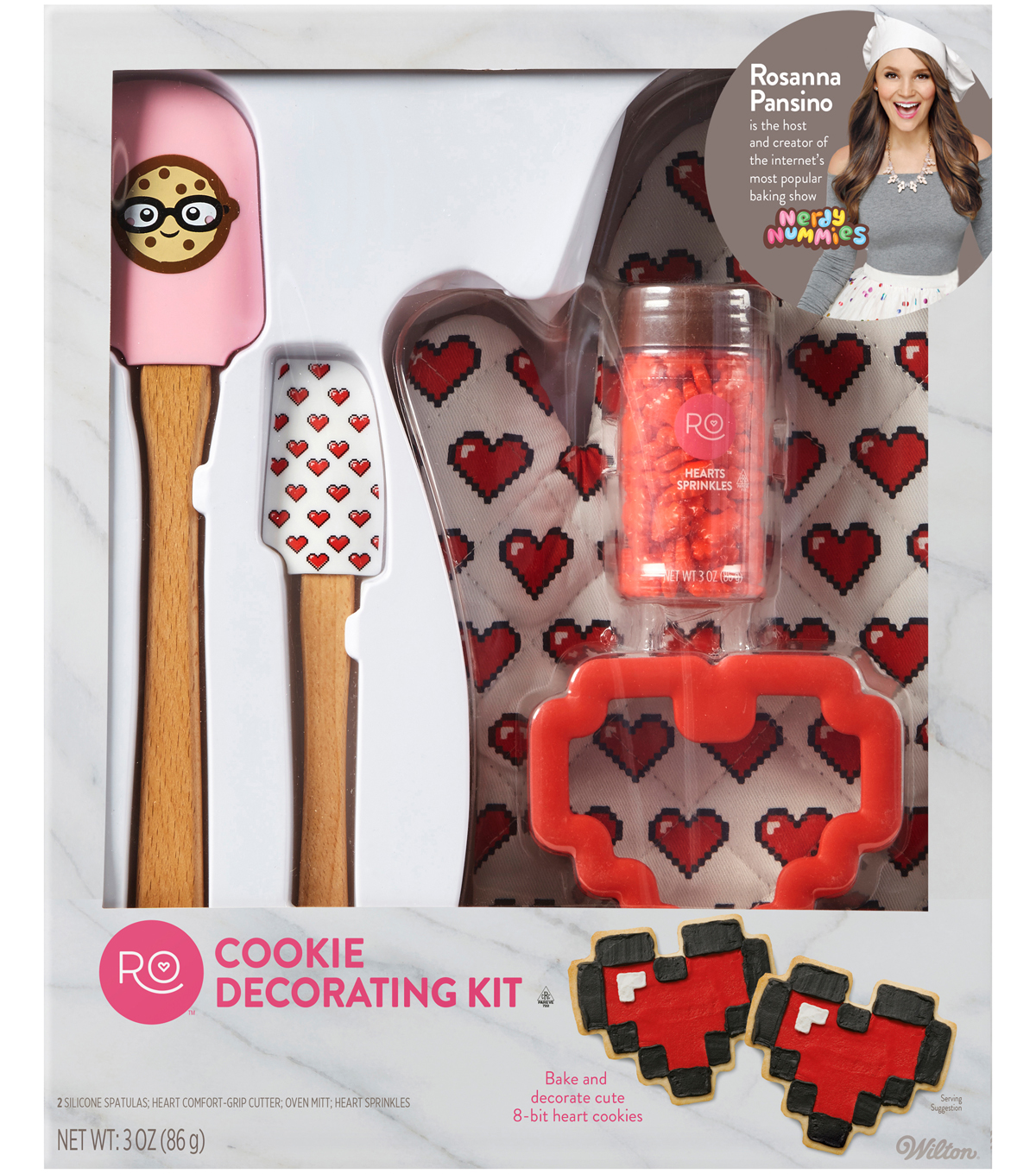 Wilton Rosanna Pansino Cookie Decorating Kit