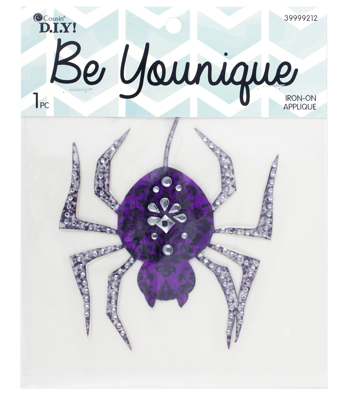 Cousin® DIY Be Younique Iron-On Transfer-Spider