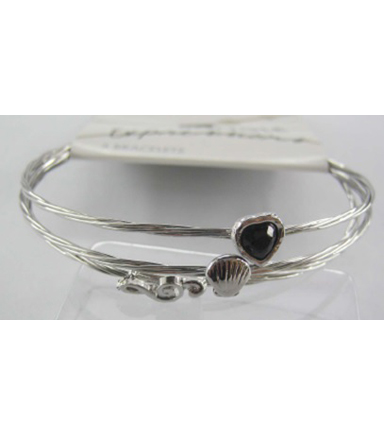 Bangle Expressions Silver Bracelet Assortment 359