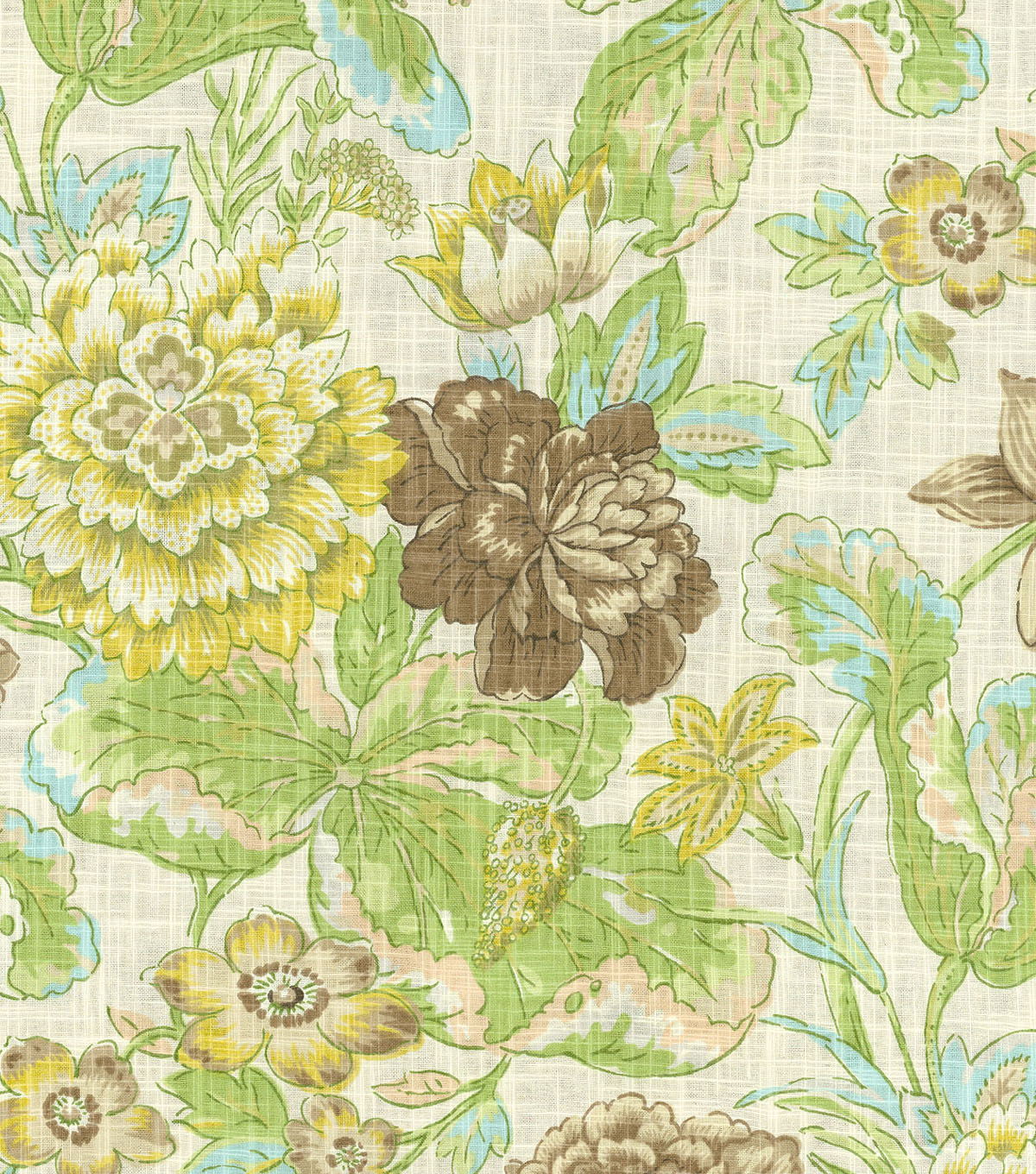 Waverly Print Fabric 54\u0022-Sonnet Sublime/Mineral