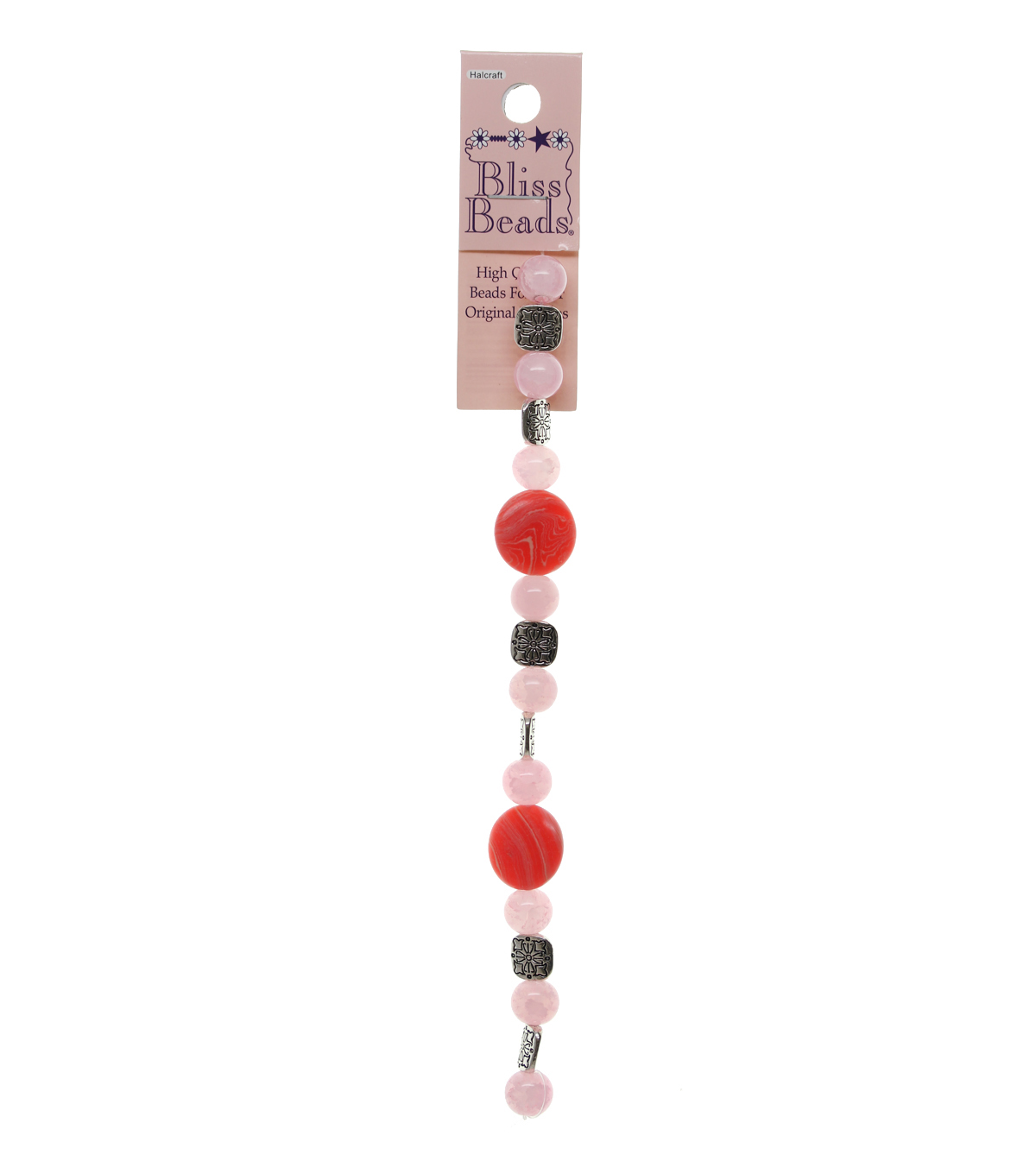 Bliss Beads Pink Stones