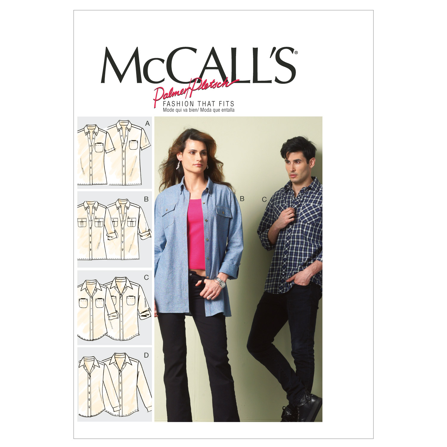 McCall's Adult Top-M6613