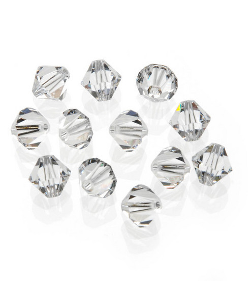 Darice 8mm Swarovski Faceted Bicone Bead