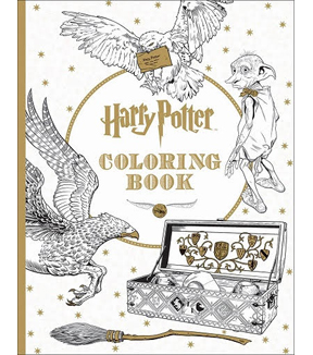 harry potter coloring book - Coloring Book Harry Potter