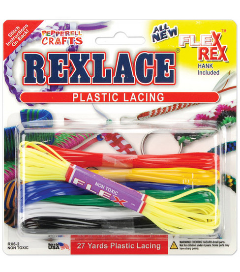 Rexlace Plastic Lace Combo Packs-Basic