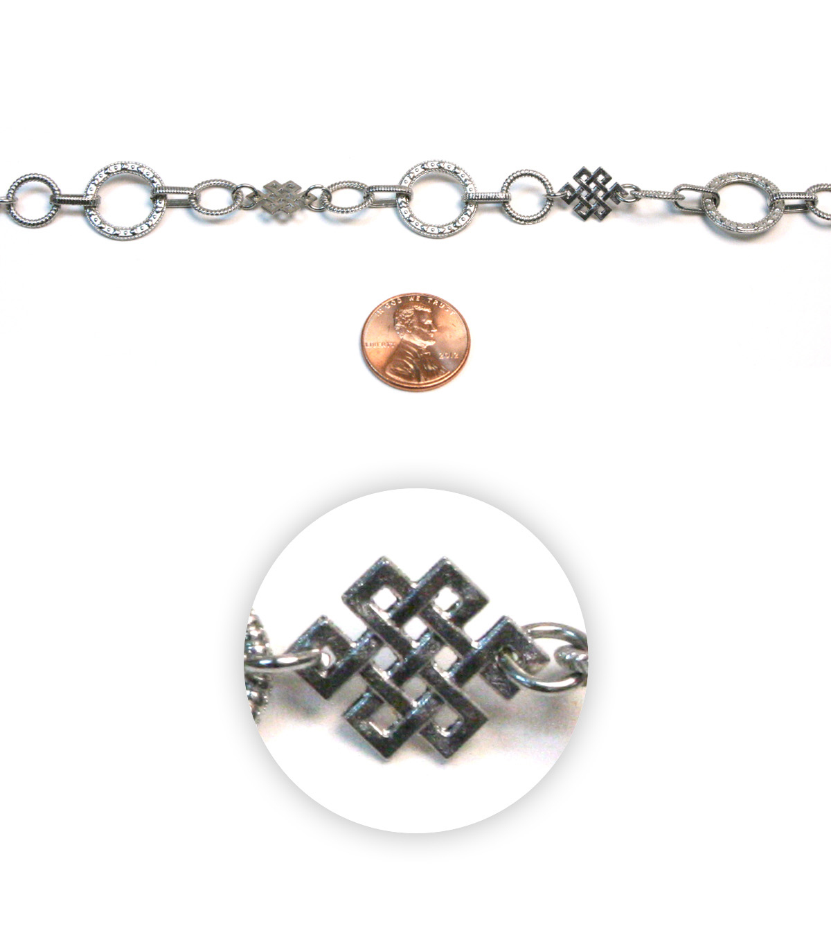 Celtic Link Metal Chain
