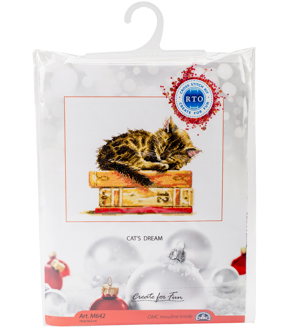Cat's Dream Counted Cross Stitch Kit 14 Count