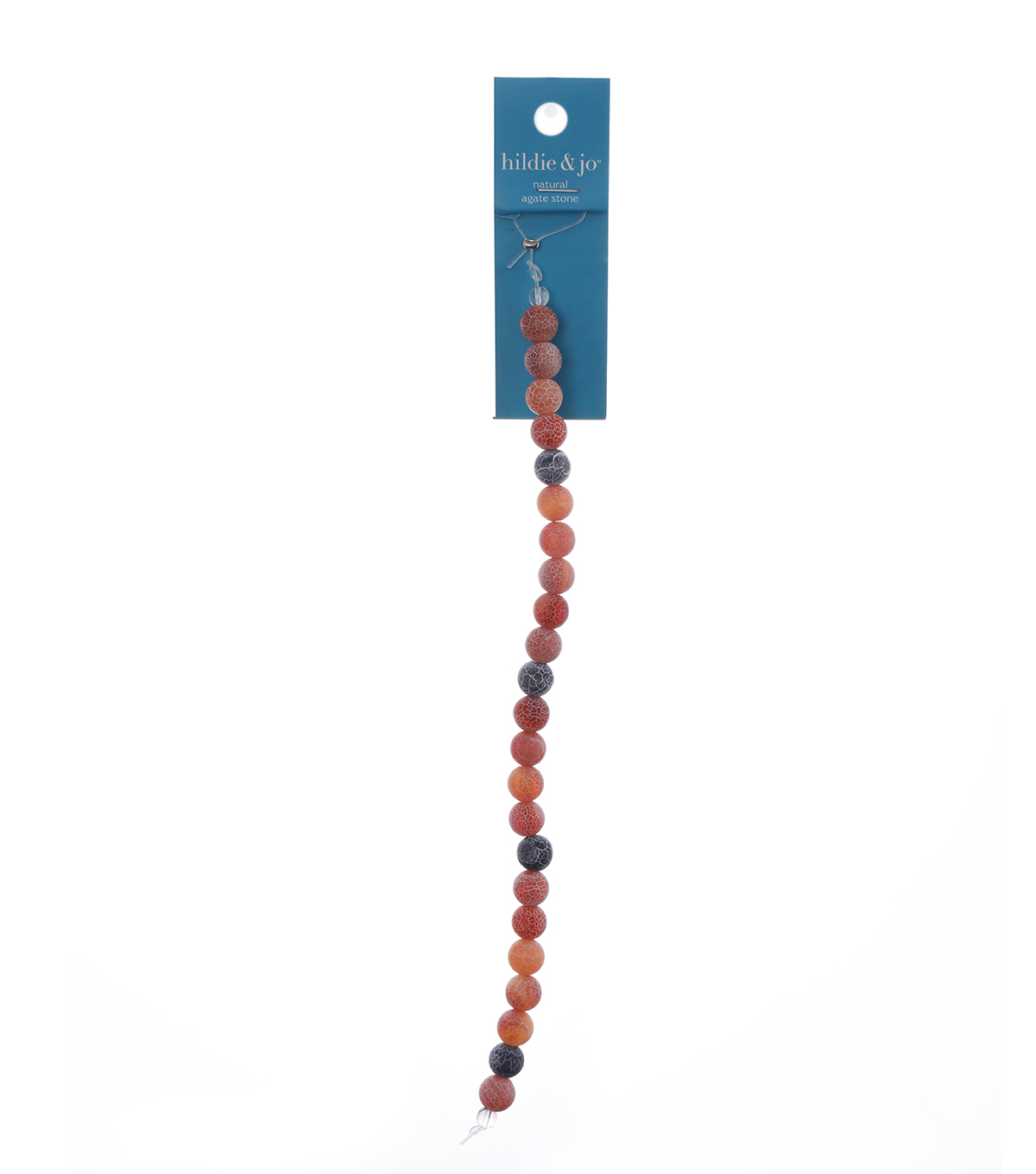 Blue Moon Beads 7\u0022 Strand Semi-Precious 8mm Frosted Maple Stone