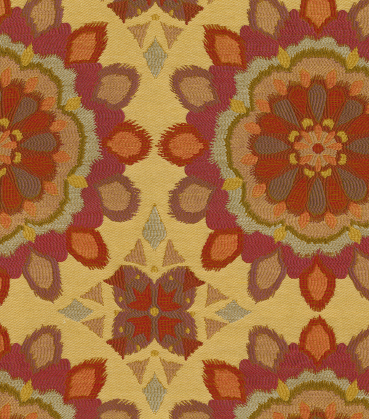 Home Decor 8\u0022x8\u0022 Fabric Swatch-Waverly Spellbound Fiesta