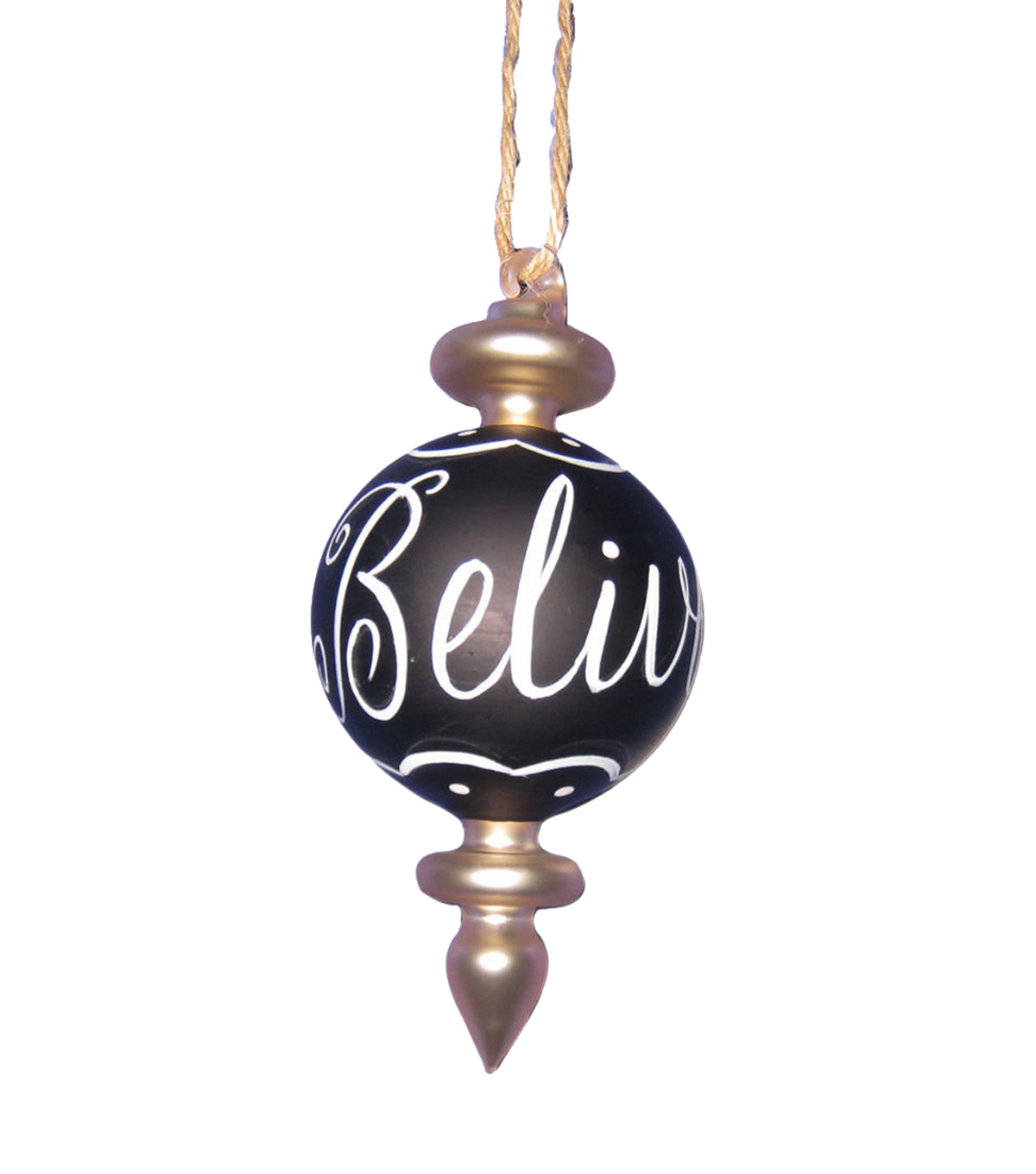 Maker\u0027s Holiday Believe Finial Ornament