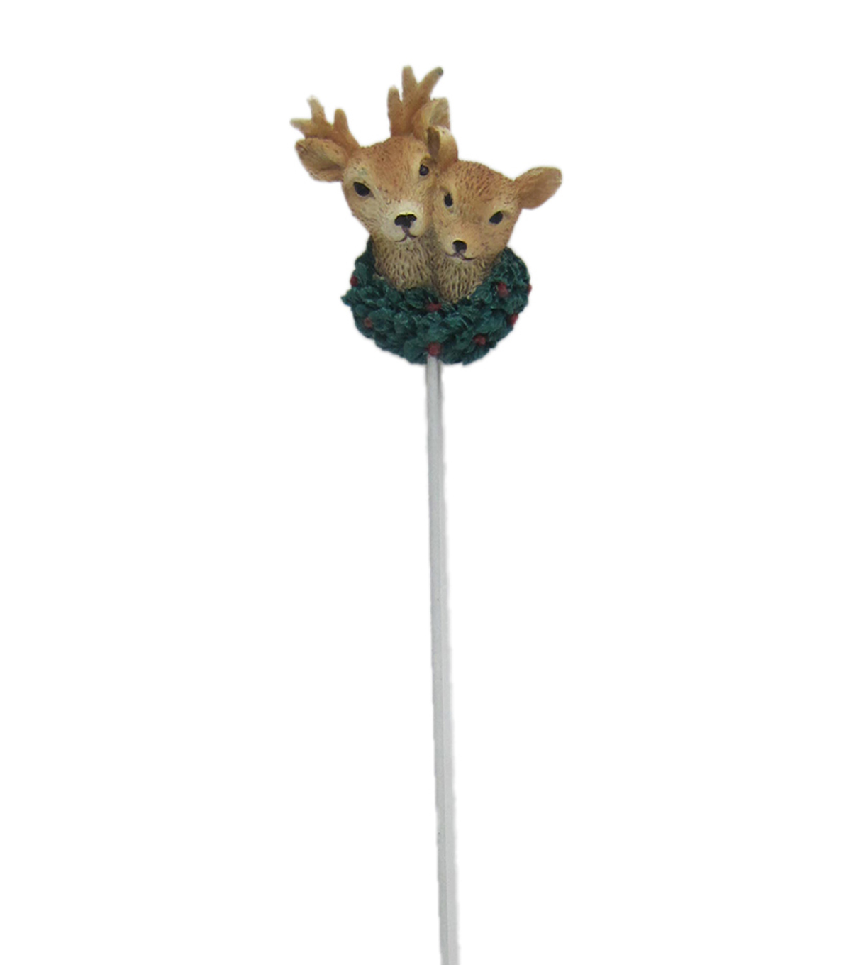 Maker\u0027s Holiday Christmas Littles Two Deer Head Pick