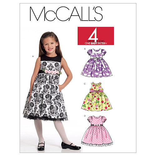 McCall\u0027s Child Special Occasion-M5793