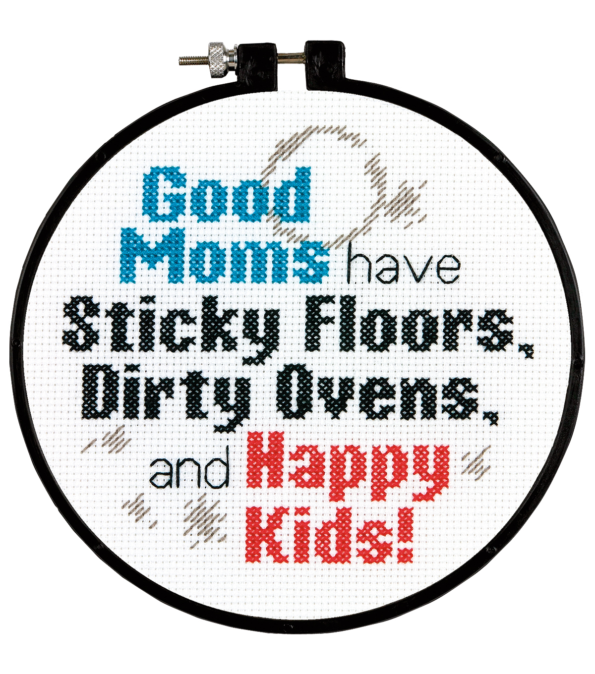 Dimensions Stitch Wits Good Moms Mini Counted Cross Stitch Kit