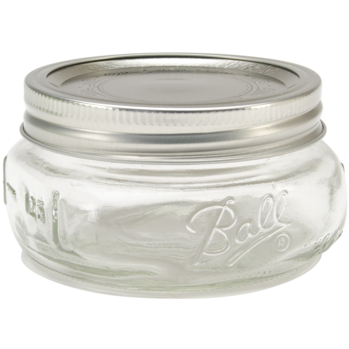 Ball Wide Mouth Canning Jar 4/Pkg-Half Pint