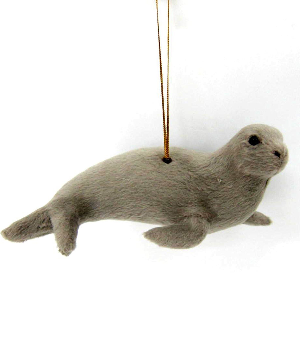 Maker\u0027s Holiday Furry Seal Ornament