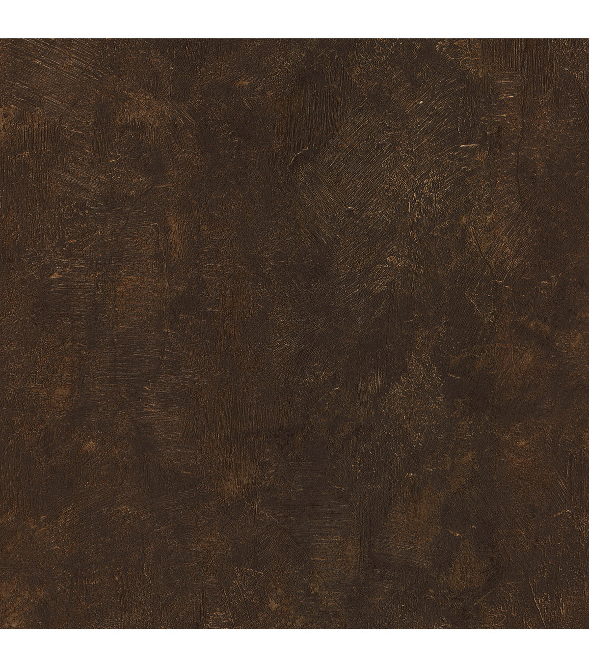 Davio Dark Brown Heavy Plaster Wallpaper