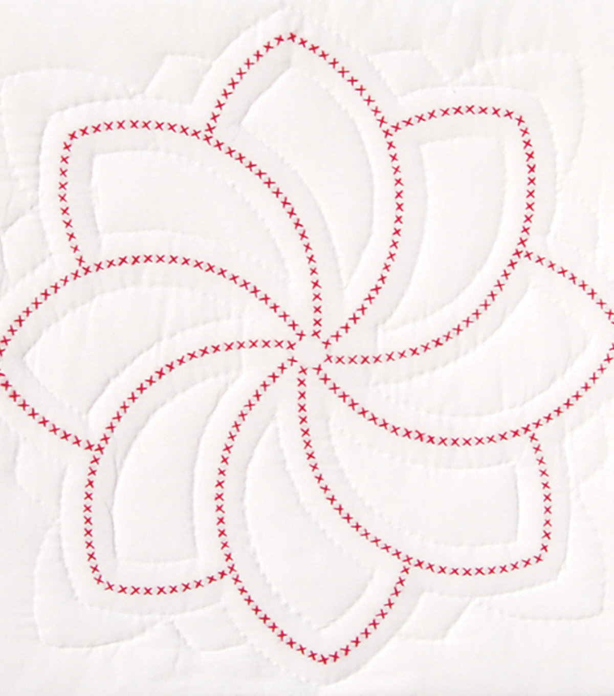 Stamped White Quilt Blocks 18\u0022X18\u0022-XX Pinwheel