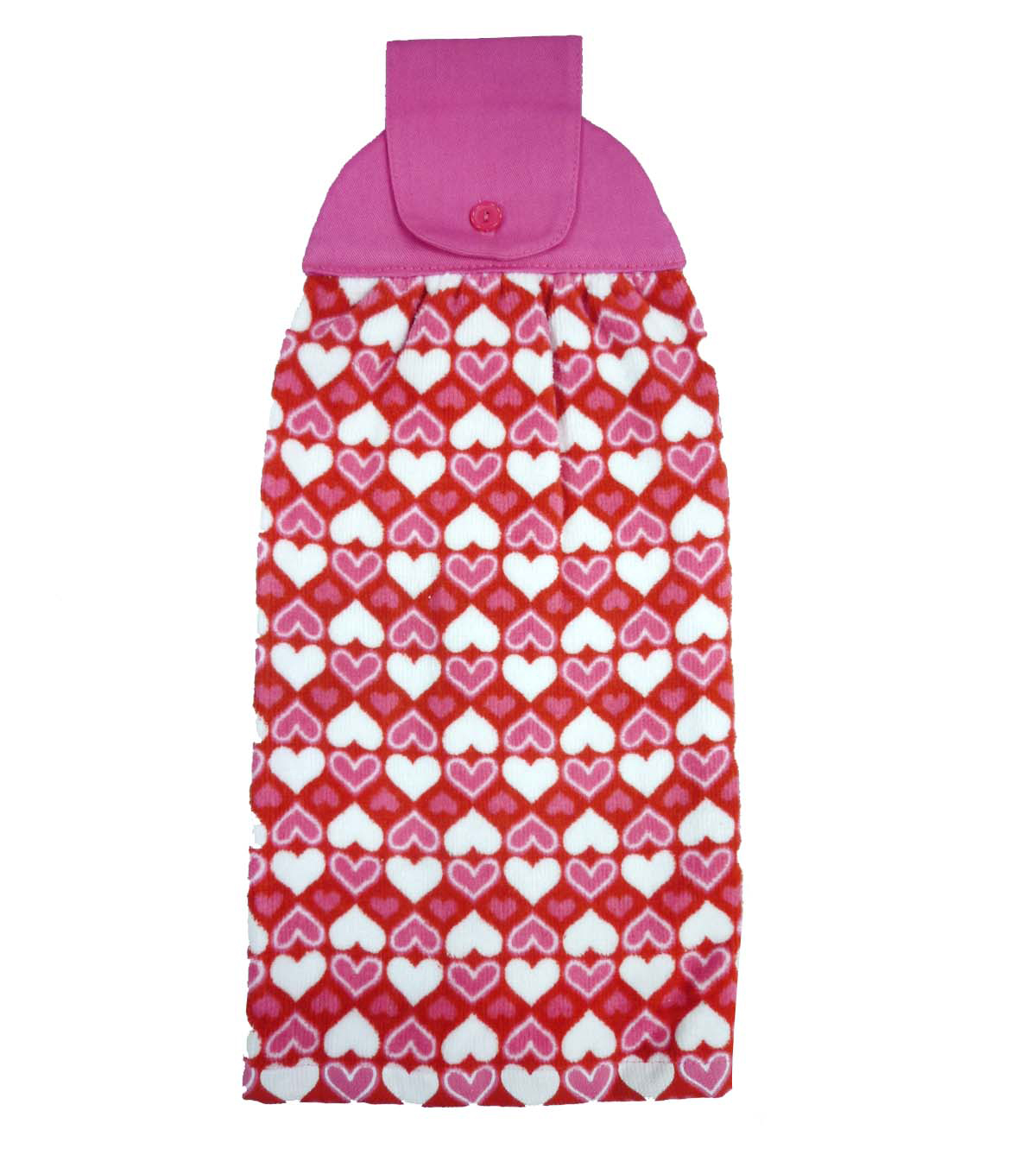 Valentine\u0027s Day Granny Towel-All Over Hearts